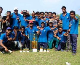 campion cup in cricket match a anowara bioscience